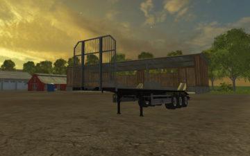 Fliegl Universal Semitrailer autoload V 1.3 Trailer (4)