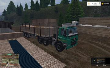 Fliegl Universal Semitrailer autoload V 1.3 Trailer (5)