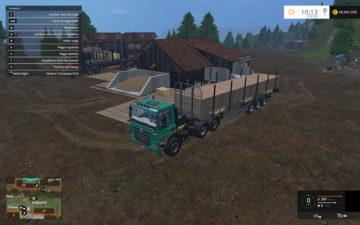 Fliegl Universal Semitrailer autoload V 1.3 Trailer (6)
