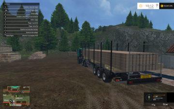 Fliegl Universal Semitrailer autoload V 1.3 Trailer (8)