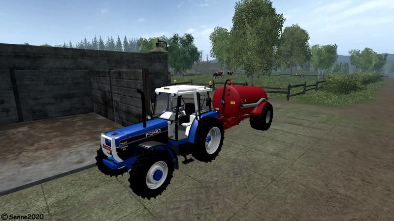 Ford 7840 SLE V 1 0 LS 2015 - Farming simulator 2019 / 2017 / 2015 Mod