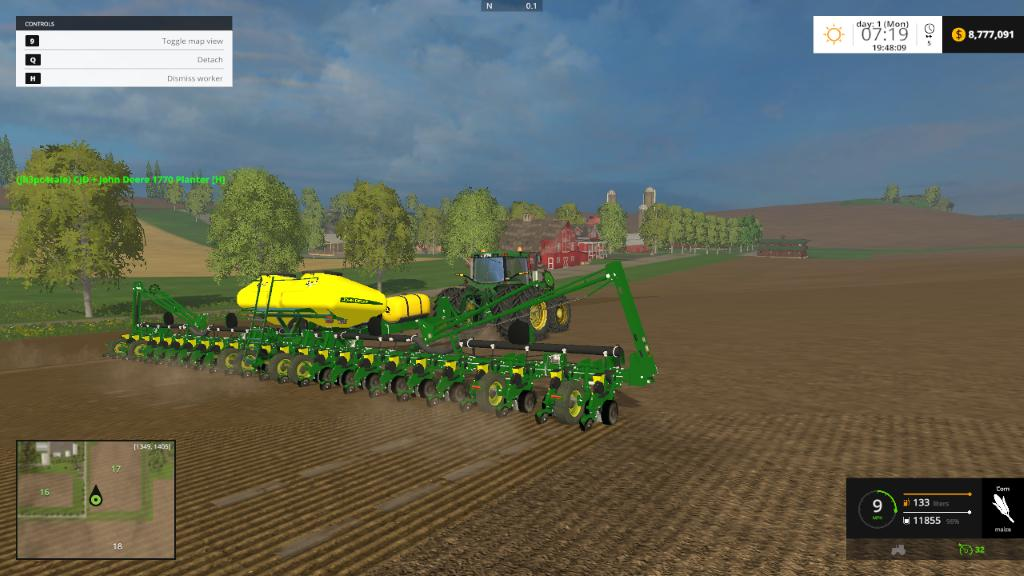 with planters planter success right no setup farmer prairie starts john indiana till deere