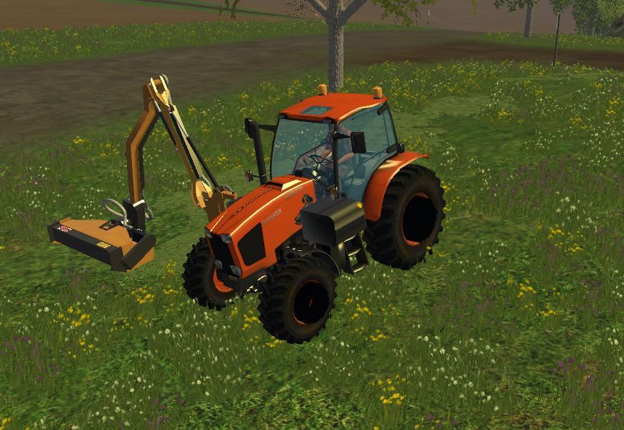 KUBOTA MT35GX WITH SIDE MOUNT MOWER V1 FS 2015 - Farming