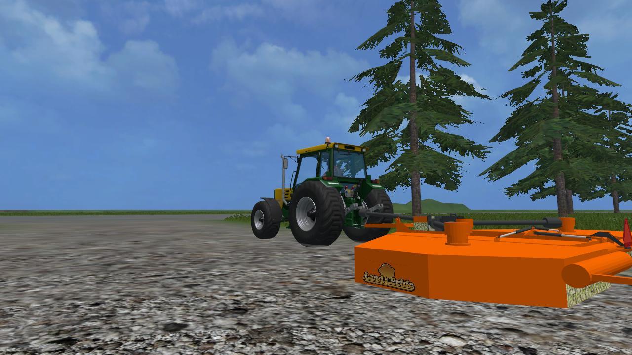 LAND PRIDE BATWING MOWER V2 FS15 - Farming simulator 2019