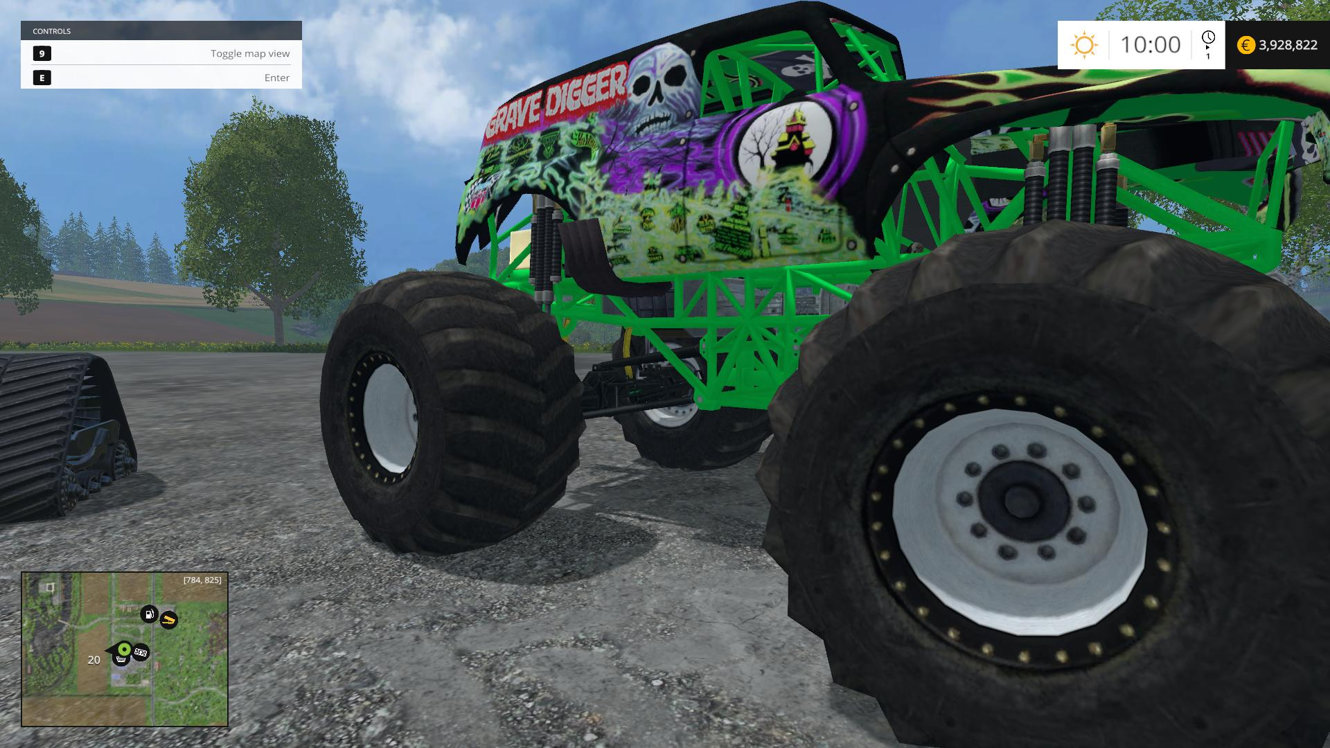 monster truck fans 2015 part2 farming simulator 2019 2017 2015 mod