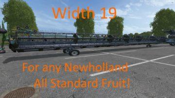 NEW HOLLAND + CAT TRUCK TRAILER PACKS FS15 (11)