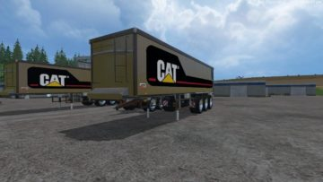 NEW HOLLAND + CAT TRUCK TRAILER PACKS FS15 (5)