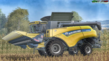New Holland CR9.90 40 Years Edition V 1.2 Combine (3)
