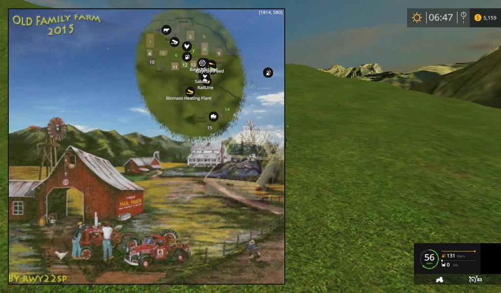Old Family Farm 2015 V2 Map 3