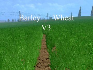Weizen Textur von Gerste und Raps V 3.0 LS15 (10)