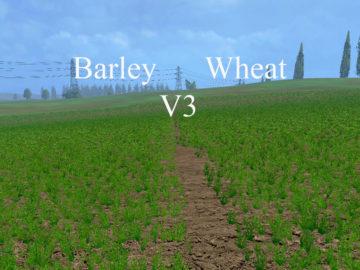 Weizen Textur von Gerste und Raps V 3.0 LS15 (5)