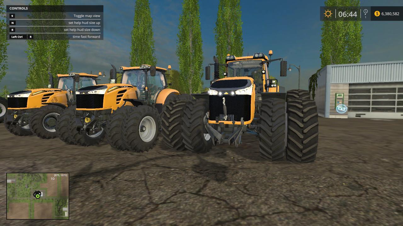 Cat Challenger Mt1050 V1 1 Mod Farming Simulator 2019