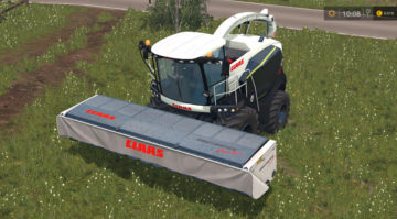 Claas Direct Disc 620 Black Edition TEXTURE V 1.0 FS15 (1)