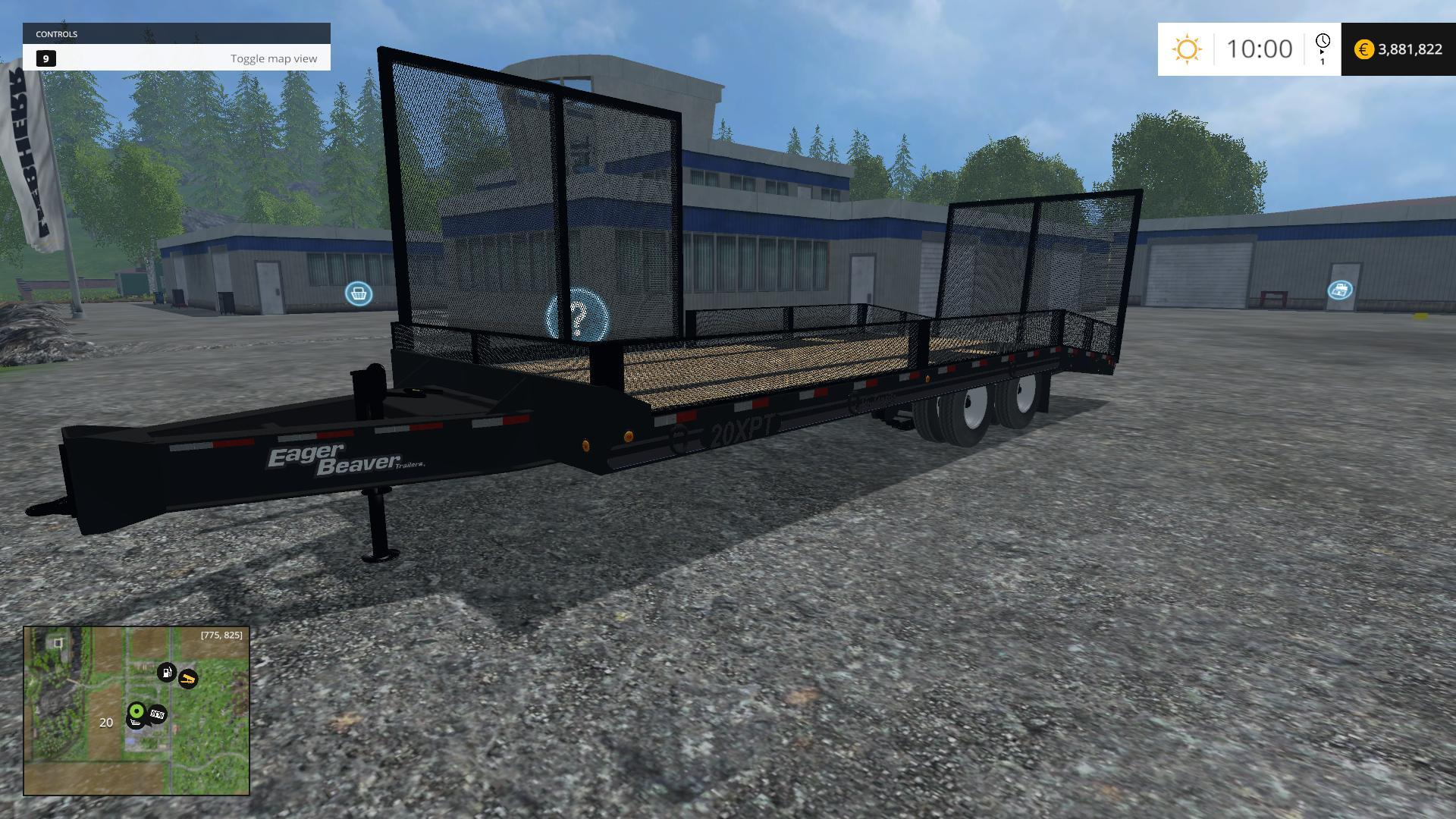 ... V1.0 TRAILER - Farming simulator 2017 / 2015 | 15 / 17 LS mod