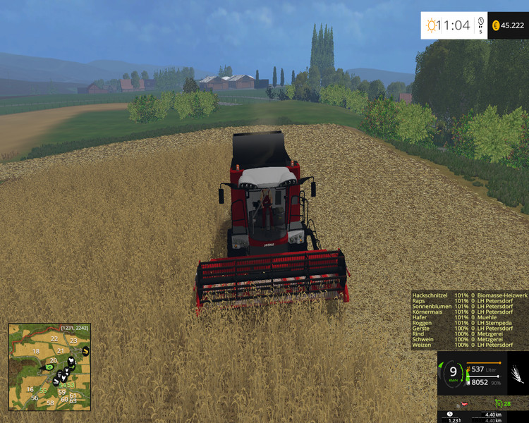 La Normandie V 2.1.1 Map FS15 - Farming simulator 2017 / 2015 | 15 ...