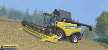 NEW HOLLAND CR 9.80 COMBINE (1)