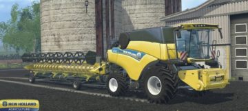 NEW HOLLAND CR 9.80 COMBINE (2)