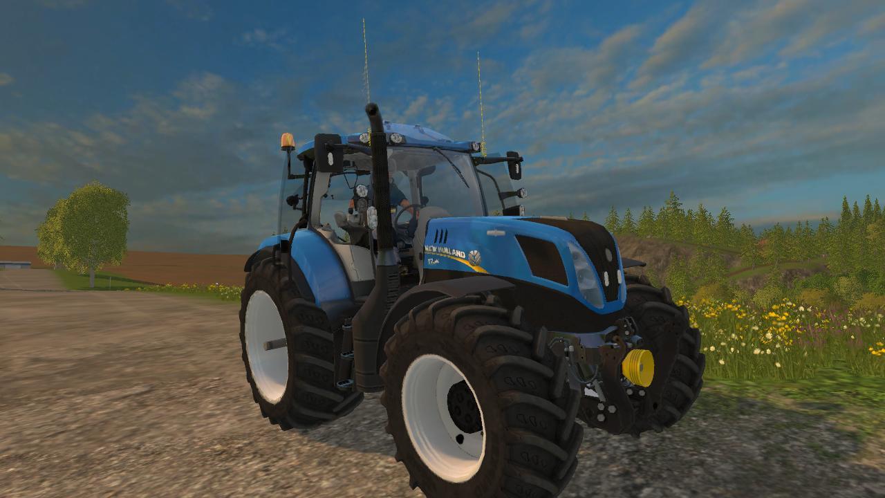 New Holland T7 240 V1 Tractor Farming Simulator 2019