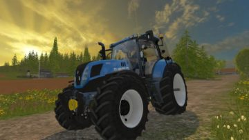 NEW HOLLAND T7.240 V1 TRACTOR (3)