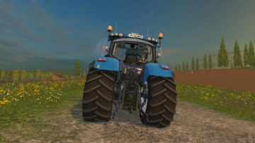 NEW HOLLAND T7.240 V1 TRACTOR (4)