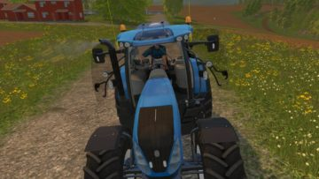 NEW HOLLAND T7.240 V1 TRACTOR (6)