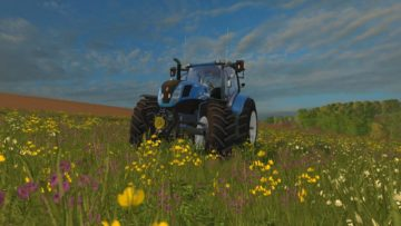 NEW HOLLAND T7.240 V1 TRACTOR (7)