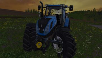 NEW HOLLAND T7.240 V1 TRACTOR (8)