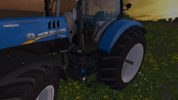 NEW HOLLAND T7.240 V1 TRACTOR (9)