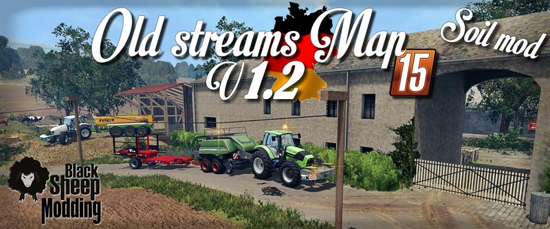 Old Streams Map V 1 2 Soil Mod FS 2015 - Farming simulator 2019