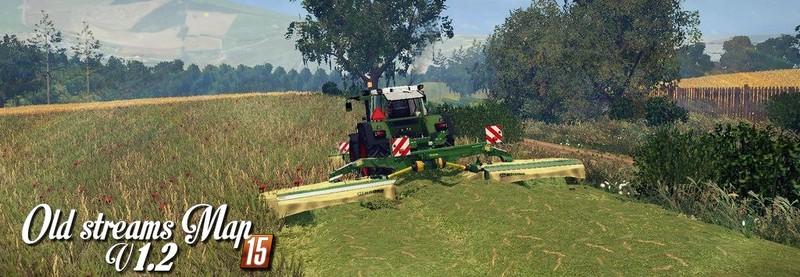 Old Streams Map V 1 2 Soil Mod FS 2015 - Farming simulator