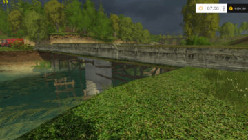 Sosnovka Ersatzbruecke V 1.0 FunVersion!Beta FS15 (3)
