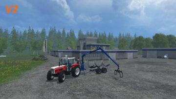 Steyr 8090 SK2 Equipment Pack V 2.0 Binderberger RW9 FS15 (12)