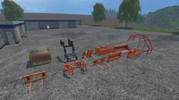 Steyr 8090 SK2 Equipment Pack V 2.0 Binderberger RW9 FS15 (19)
