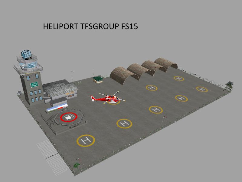 TFSG HELIPORT CENTER V20 FS 2015