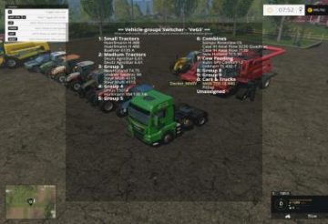 VEHICLE GROUPS SWITCHER – VEGS V2.0.6 FS15 (2)