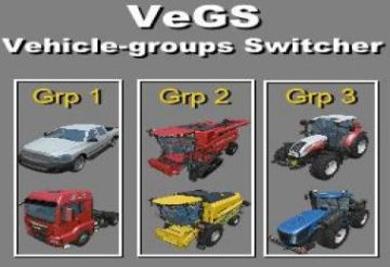 VEHICLE GROUPS SWITCHER – VEGS V2.0.6 FS15 (4)