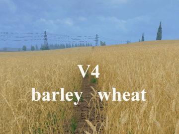 Weizen Textur von Gerste und Raps V 4 Mod (2)