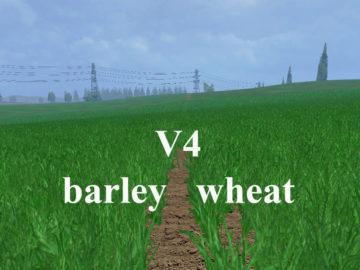 Weizen Textur von Gerste und Raps V 4 Mod (4)