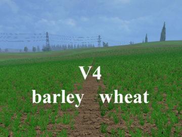 Weizen Textur von Gerste und Raps V 4 Mod (5)