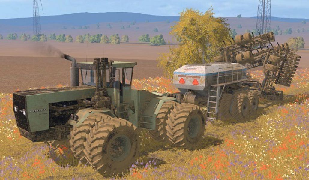 AMERICAN SUPER SEEDER NO FS Farming Simulator - Us map mod fs 17