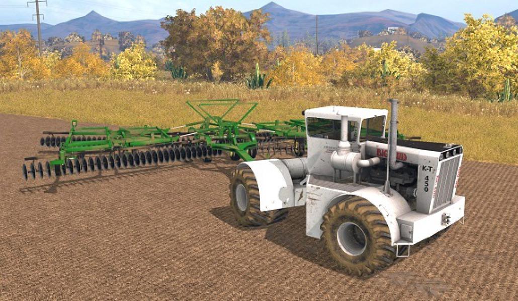 Big Bud Tractor : Big bud k t tractor farming simulator