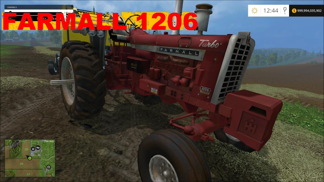 FARMALL 1206 V1 TRACTOR farmall 1206 v1 tractor farming simulator 2017 2015 15 17 Farmall 1206 Tractors On eBay at bayanpartner.co