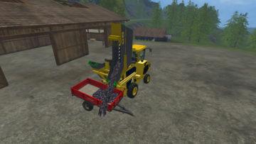 Gregoire G8.260 Grape harvester V 0.96 Combine (8)