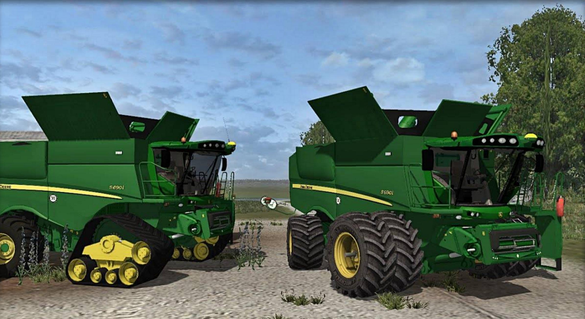 John Deere s690i Combine - Farming simulator 2017 / 2015 ...