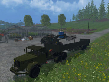 Magirus Deutz Jupiter tractor with semi-trailer V 1.15 LS 2015 (10)