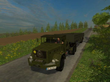 Magirus Deutz Jupiter tractor with semi-trailer V 1.15 LS 2015 (11)