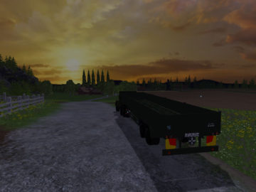 Magirus Deutz Jupiter tractor with semi-trailer V 1.15 LS 2015 (12)