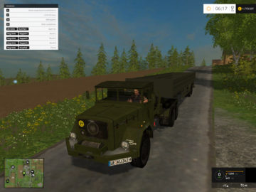 Magirus Deutz Jupiter tractor with semi-trailer V 1.15 LS 2015 (13)