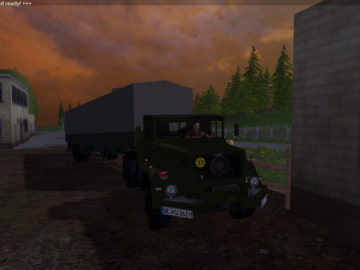 Magirus Deutz Jupiter tractor with semi-trailer V 1.15 LS 2015 (5)