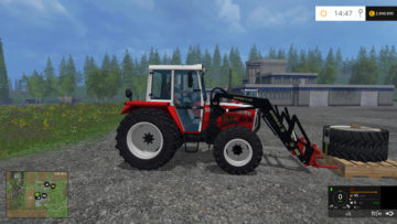 Twin tires, snow chains Pack STEYR 8060 SK2 V 1 LS15 (1)